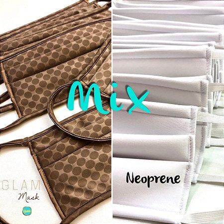 MIX - Glam + Branca Neoprene