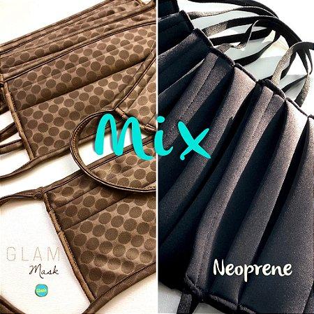 MIX - Glam + Preta Neoprene