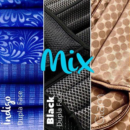 MIX - Índigo Dupla Face + Black Dupla Face + Glam