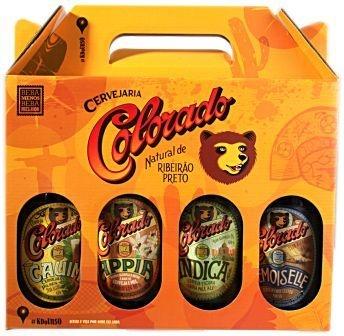 Kit Colorado 4 Cervejas 600 ml