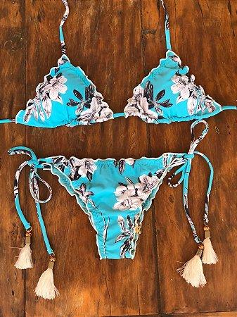Biquini - Ripple Azul floral