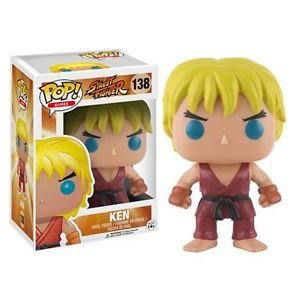FUNKO POP GAMES STREET FIGHTER KEN - 138