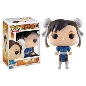 FUNKO POP GAMES STREET FIGHTER CHUN-LI - 136
