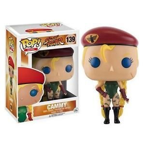 FUNKO POP GAMES STREET FIGHTER CAMMY - 139