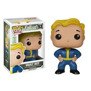 FUNKO POP GAMES FALLOUT VAULT BOY - 53