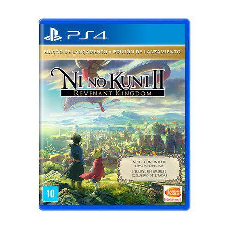 Ni no Kuni II: Revenant Kingdom (Edição de Lançamento) - PS4