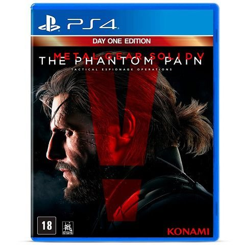 Metal Gear Solid V The Phantom Pain Ps4 - Usado