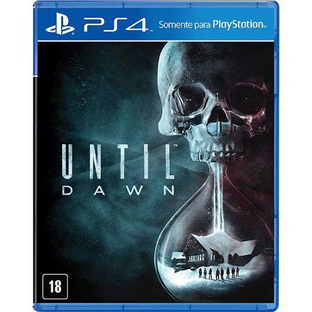 Until Dawn PS4 - Usado