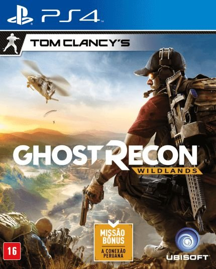 Tom Clancys Ghost Recon Wildlands PS4 - Usado