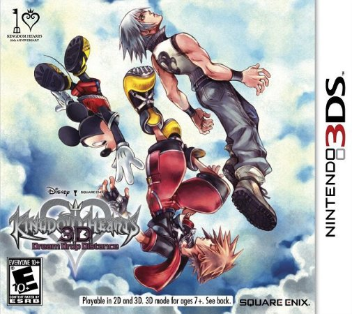 Kingdom Hearts 3D  Dream Drop Distance 3DS - Usado