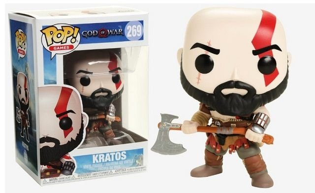 Funko Pop Kratos God Of War - 269