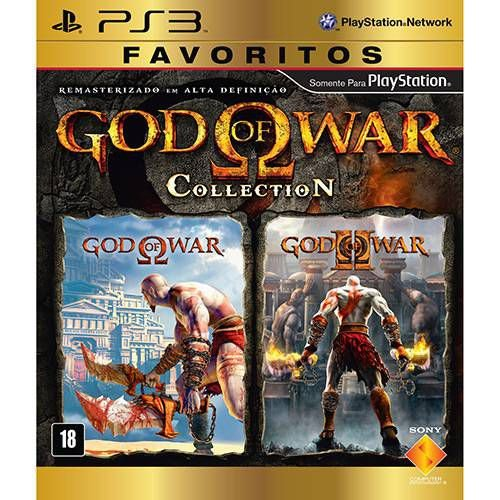God of War Collection PS3 - Usado