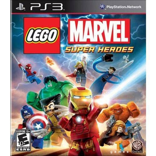Lego Marvel Super Heroes PS3 - Usado