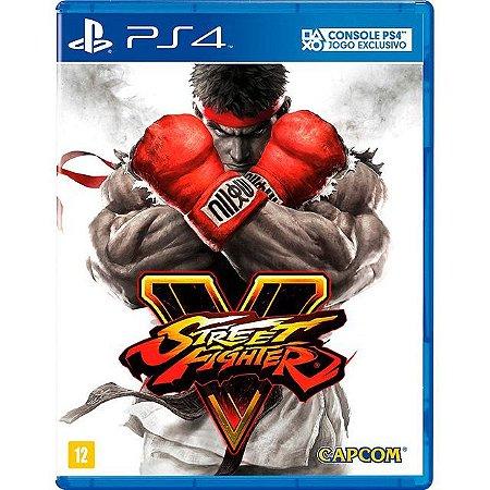 Street Fighter V PS4 - Usado