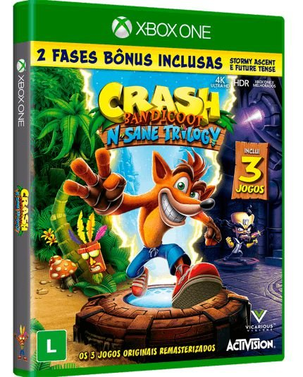 Crash Bandicoot N Sane Trilogy - Xbox One