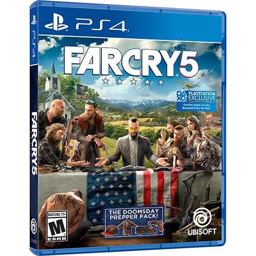 FarCry 5 PS4 - Usado