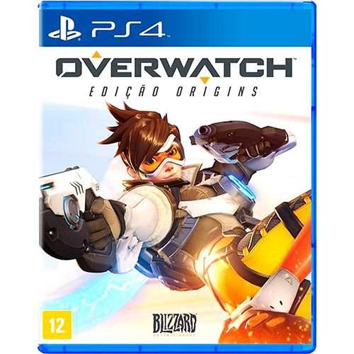 Overwatch Origins Edition PS4 - Usado