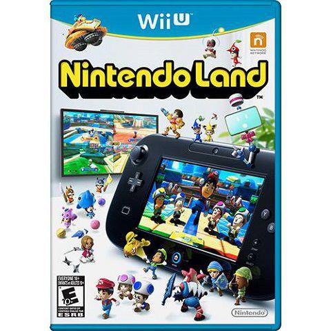Nintendo Land Wii U - Usado
