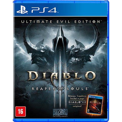 Diablo III Ultimate Evil Edition PS4 - Usado