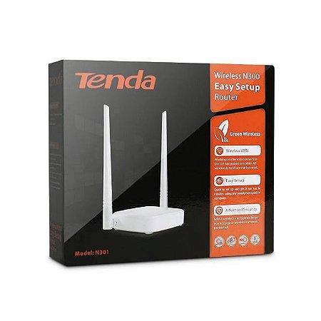 Roteador Tenda Roteador sem fio N301 PRESET (N301P) - GTIN: 6932849428339