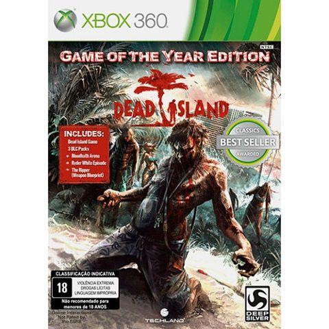 Dead Island - Xbox 360 Goty - Usado