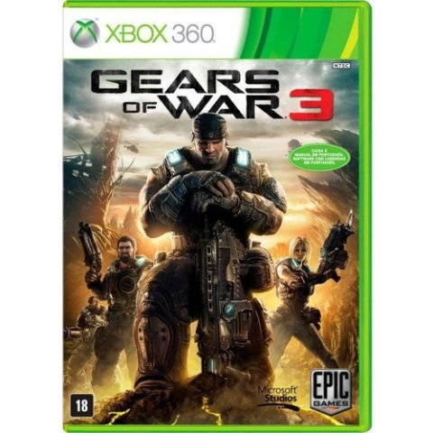 Gears Of War 3 - Xbox 360 - Usado