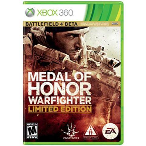 Medal Of Honor Warfighter Edição Limitda - Xbox 360 - Usado