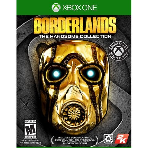 Bordelands The Handsome Collection - Xbox One - Usado