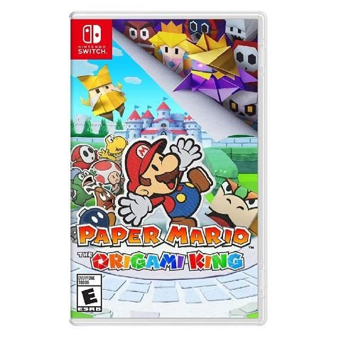 Paper Mario The Origami King Switch - Usado
