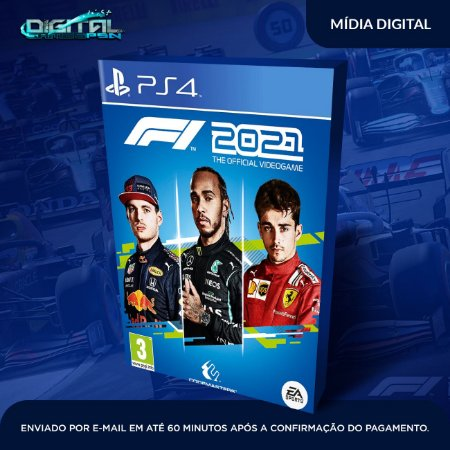 F1 2021 PS4 Mídia Digital (secundária)