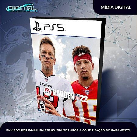 Madden NFL 22 PS5 Mídia Digital