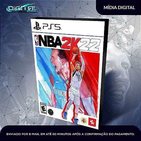 NBA 2K22 PS5 Mídia Digital
