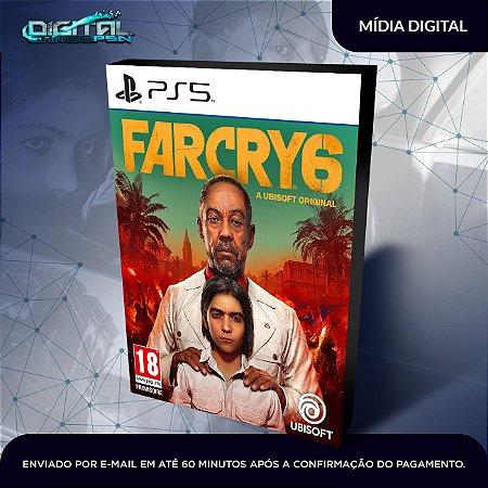 Far Cry 6 PS5 Mídia Digital