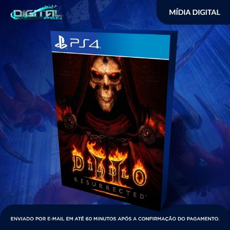 Diablo 2 Resurrected PS4 Mídia Digital