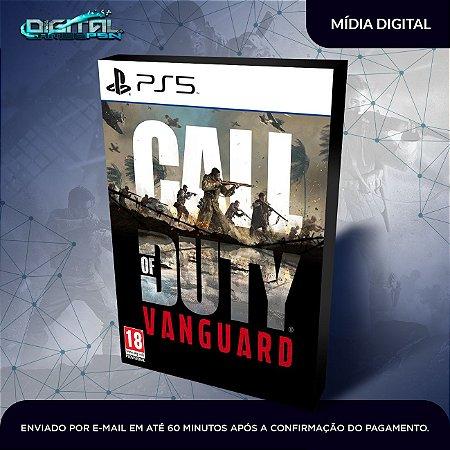 Call of Duty Vanguard PS5 Mídia Digital