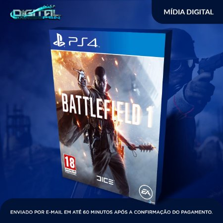 Battlefield 1 PS4 Mídia Digital
