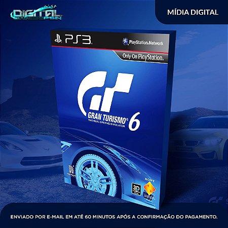 Gran Turismo 6 PS3 Mídia Digital