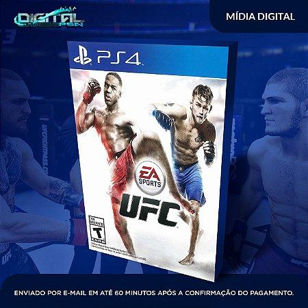 UFC PS4 Mídia Digital