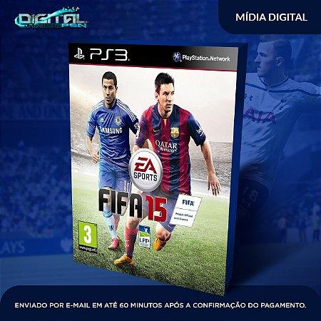 FIFA 2015 PS3 Mídia Digital