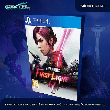 Infamous First Light PS4 Mídia Digital