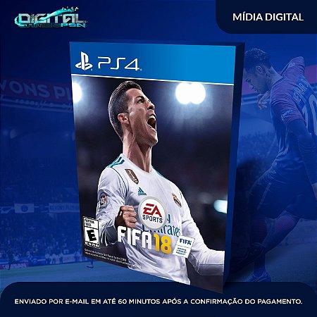 FIFA 2018 PS4 Mídia Digital