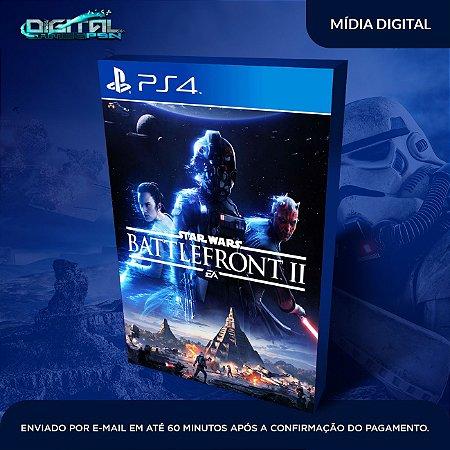 Star Wars Battlefront 2 PS4 Mídia Digital