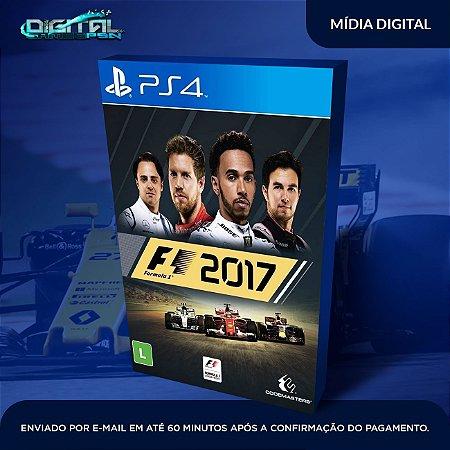 F1 2017 PS4 Mídia Digital