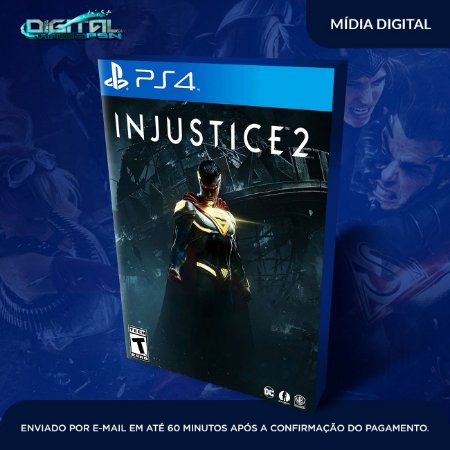 Injustice 2 PS4 Mídia Digital