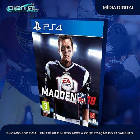 Madden NFL18 PS4 Mídia Digital