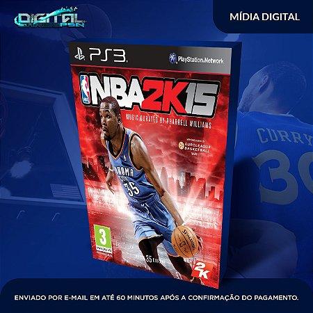 NBA 2K15 PS3 Mídia Digital