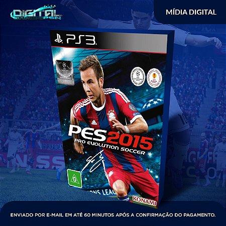 PES 2015 PS3 Mídia Digital
