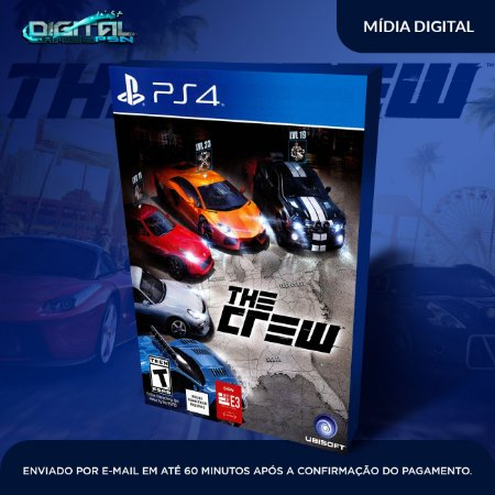 The Crew PS4 Mídia Digital