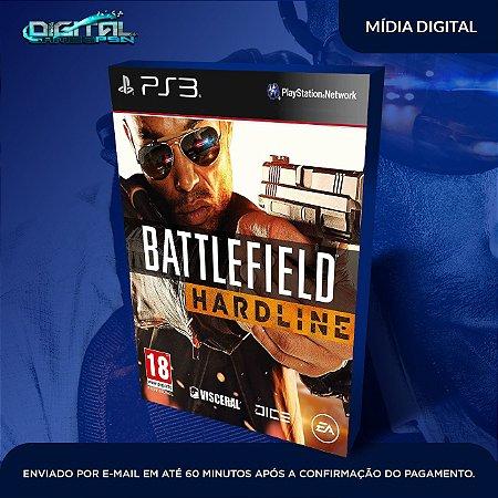 Battlefield Hardline PS3 Mídia Digital