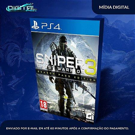 Sniper Ghost Warrior 3 Edição Season Pass Ps4 Mídia Digital